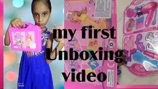 Girls Make up Toy | Fashion Beauty Set | make up toys | My First Unboxing Video | #Sabeeha Creations