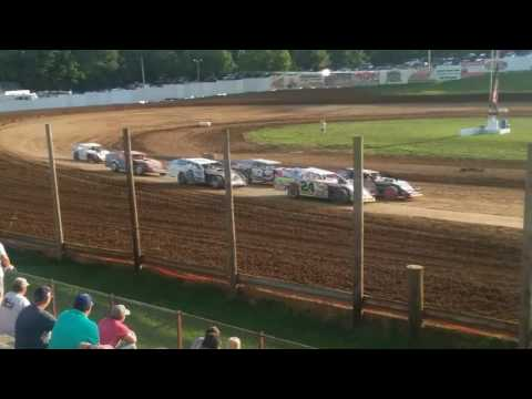 Modified Heat 3  Lincoln Park Speedway 7/16/17
