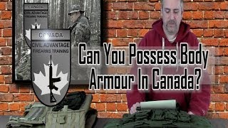 Is it Legal To Possess Body Armour In Canada