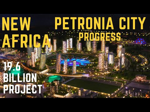 IN SEARCH OF PETRONIA CITY   PETRONIA CITY PROGRESS   THE OIL & GAS CAPITAL, GHANA