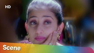 Aamir Khan flirts with Manisha Koirala - Mann - Hit Bollywood Romantic Movie