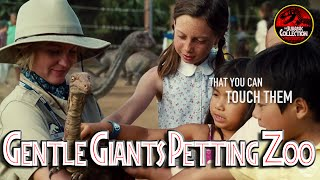 Gentle Giants Petting Zoo Promotional Video | JURASSIC WORLD | Chris Pratt dinosaur movie 2015 HD