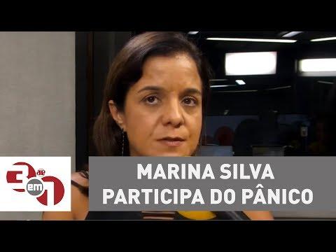 Marina Silva Participa Do Pânico Desta Segunda-feira