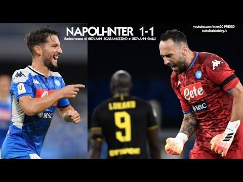 NAPOLI-INTER 1-1 - Radiocronaca di Giovanni Scaramuzzino e G
