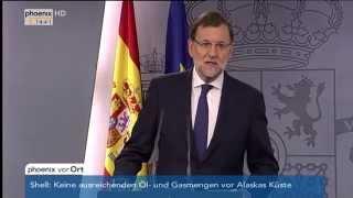 Regionalwahl in Katalonien: Mariano Rajoy zur möglichen Abspaltung Kataloniens am 28.09.2015