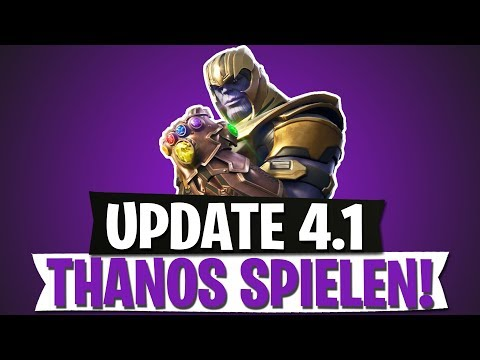 Update 4 1 Thanos Spielen Infinity Handschuh Fortnite