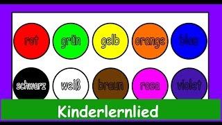 Der Farbenlieder Mix in Deutscher Sprache! Wir lernen die Farben- Sing mit  Yleekids