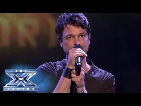 "Top 3: Jeff Gutt Sings ""Iris"" with John Rzeznik - THE X FACTOR USA 2013"