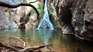 Ущелье и водопад(, 2014-07-28T13:28:37.000Z)
