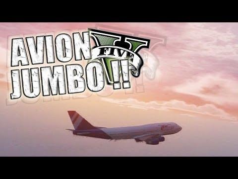 GTA V   Policías, Tiburones y Aviones JUMBO !! (Grand Theft Auto 5)