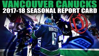 Vancouver Canucks Seasonal Report Card (2017-18)
