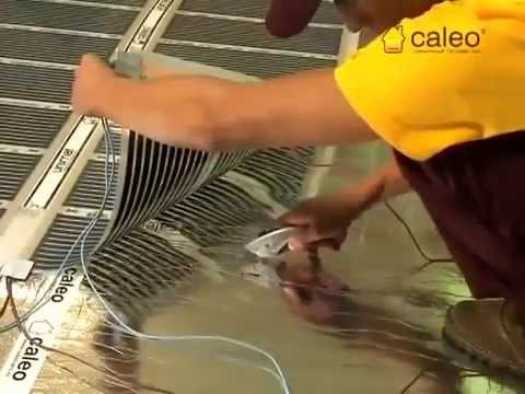 Тёплый пленочный пол Heat Plus - YouTube