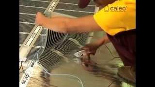 Монтаж теплого пола под ламинат и линолеум(Купить напольные покрытия можно в магазине http://a-parket.com/, 2014-09-21T12:12:28.000Z)