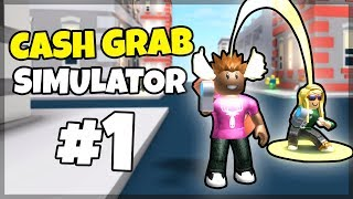 JEG BLIR RIG! - Dansk Roblox: Cash Grab Simulator #1