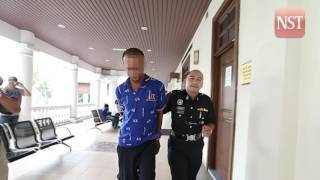 Penang road sweeper charged with trafficking 25kg of ganja