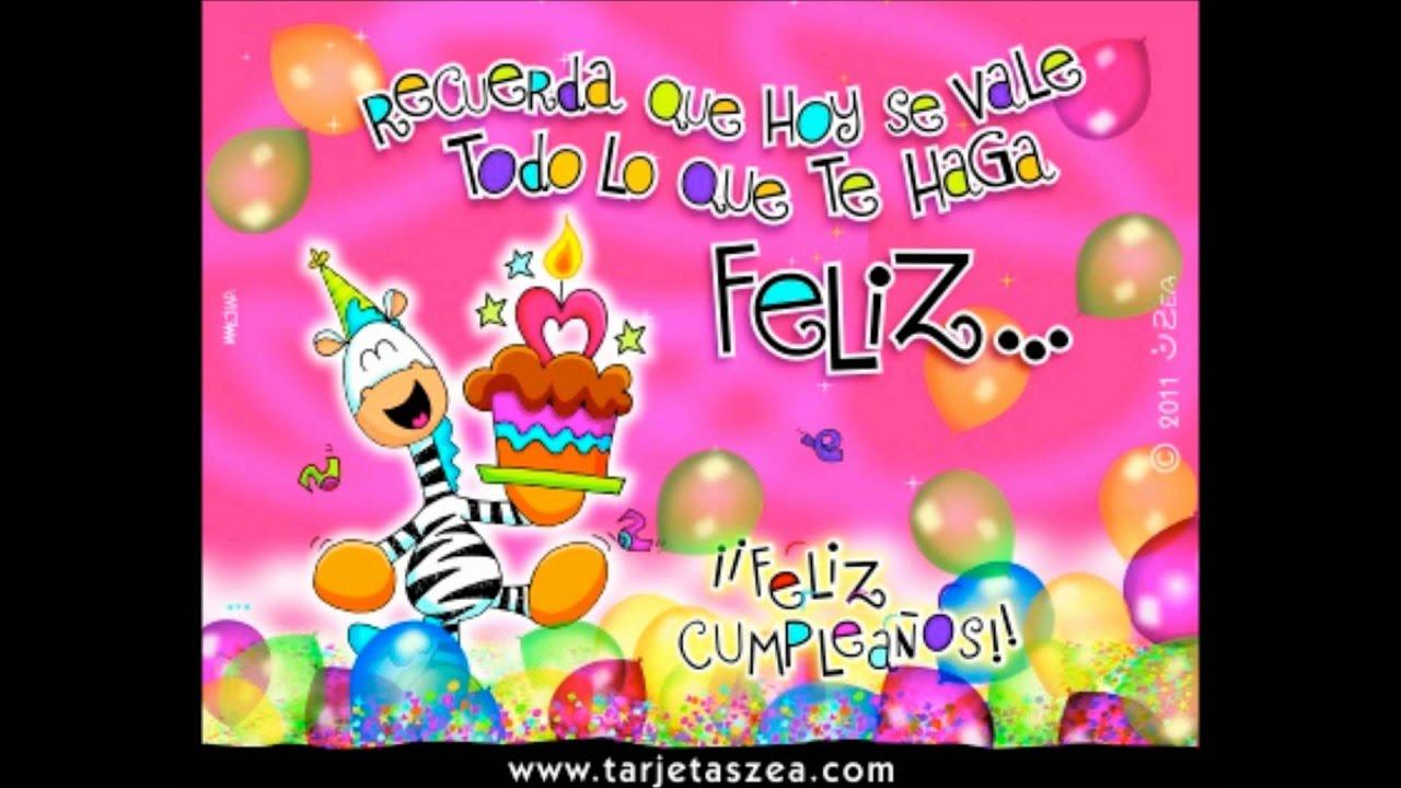 Feliz Cumpleaños Guille YouTube