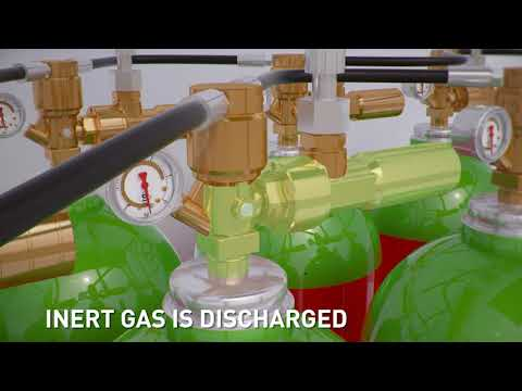 Rotarex INEREX Inert Gas Fire Suppression System - The System Components  and How it Works