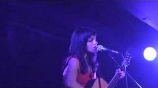 Terra Naomi performing Flesh for Bones at the Soho Revue Bar on 16t...