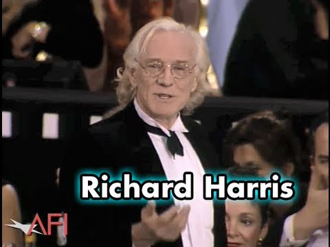 Richard Harris Thanks Kirk Douglas For His Career
