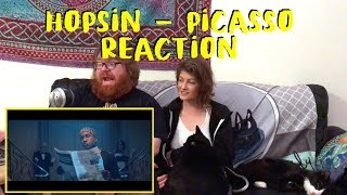 "Hopsin  - ""Picasso"" Reaction Video -- DID HE REALLY JUST SHOW THAT!?"