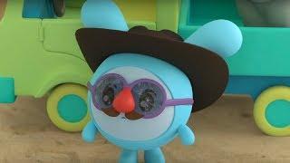 Малышарики -  Гиппопотам  - серия 141 - Обучающие мультфильмы для малышей - незнакомцы