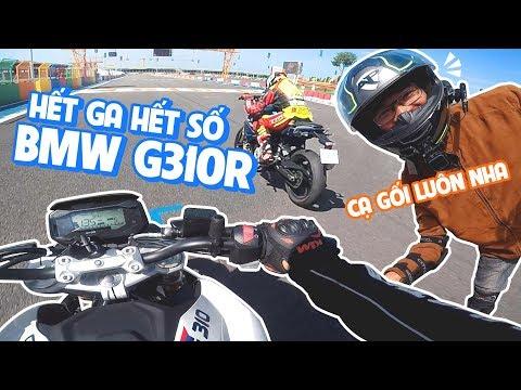RỜ RỜ #44 | TEST RIDE BẠO LỰC BMW G310R VÀ G310GS TẠI TRƯỜNG ĐUA ĐẠI NAM