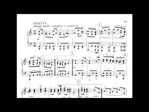Beethoven - Piano Sonata No. 32 in C minor, op. 111 (Artur Schnabel)