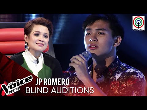 JP Romero - Usahay   Blind Audition   The Voice Teens Philippines 2020