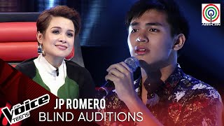 JP Romero - Usahay | Blind Audition | The Voice Teens Philippines 2020