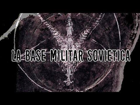 La base militar soviética y el pentagrama gigante