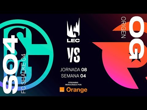 SCHALKE 04 VS ORIGEN | LEC | Spring Split [2019] League of Legends