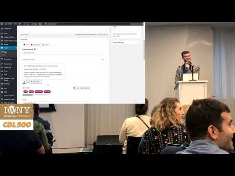 SEO: Getting All Green in Yoast @ WordCamp NYC 2019 - WordPress Tutorial Presentation by Chad Lewine thumbnail
