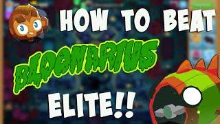 How I Beat Blooฑarius ELITE! BTD6