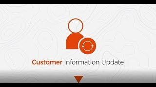 #HowTo Update your Customer Information Online