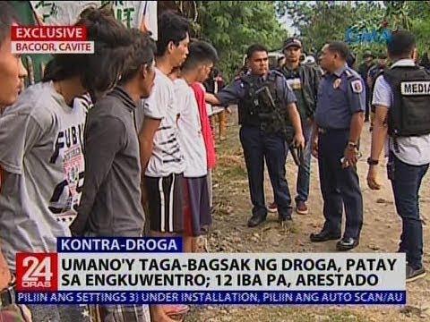 Umano'y tagabagsak ng droga, patay sa engkuwentro; 12 iba pa, arestado