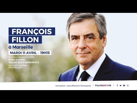 """""""Maintenant, tous à l'action !""""   François Fillon à Marseille"""
