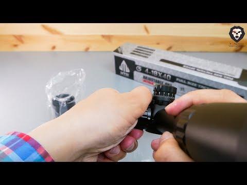 Оптический прицел Leapers 4-16x40 Full Size (SCP-416AOMDLTS) видео обзор