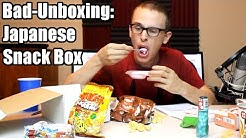 Bad Unboxing - Japanese Snack Box [Freedom Japanese Market]