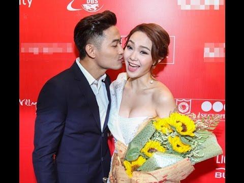 Quý Bình liên tục hôn Minh Hằng tại sự kiện(tin tuc sao viet)