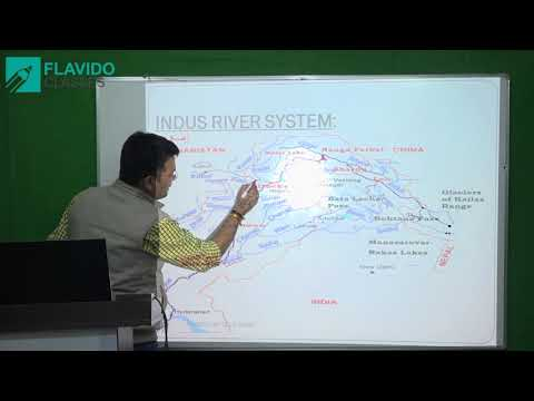 Mapping of India & World for UPSC, State PCS, SSC - River Systems in India