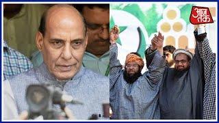 Rajnath Singh In Pakistan As 26/11 Terrorist Hafiz Saeed Leads Protests