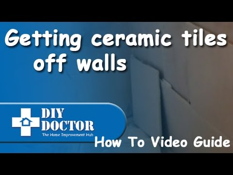 Removing Ceramic Tiles From Masonry Or Plasterboard Walls
