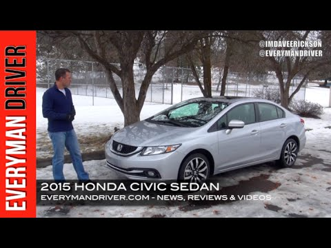 Here's the 2015 Honda Civic Review on Everyman Driver