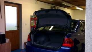 E90 Boot Auto Open Kit c/w Uprated Struts