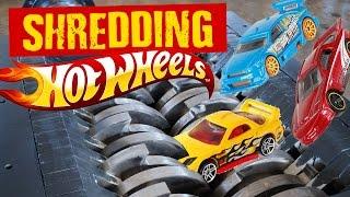 Shredding Hot Wheels Toy Cars - Shredding Stuff #16