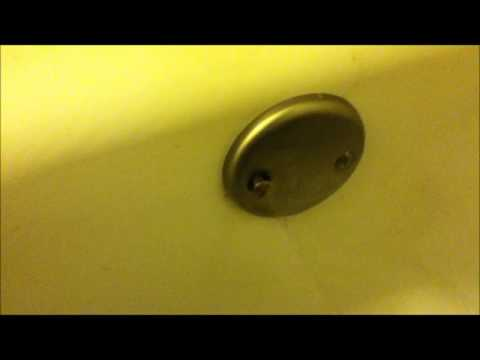 How To Unclog Tub Drain If The Snake Won T Fit Youtube