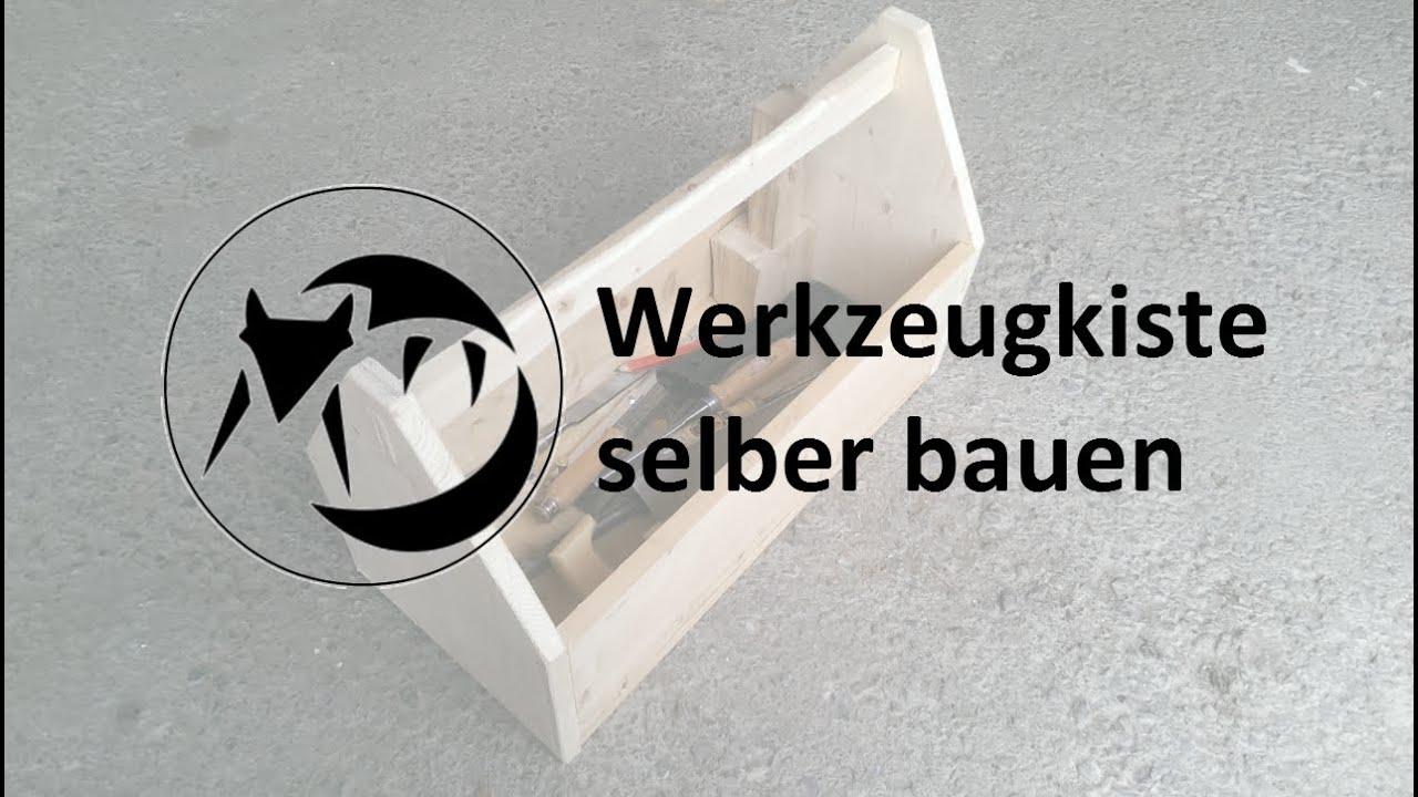 Werkzeugkiste aus Holz bauen