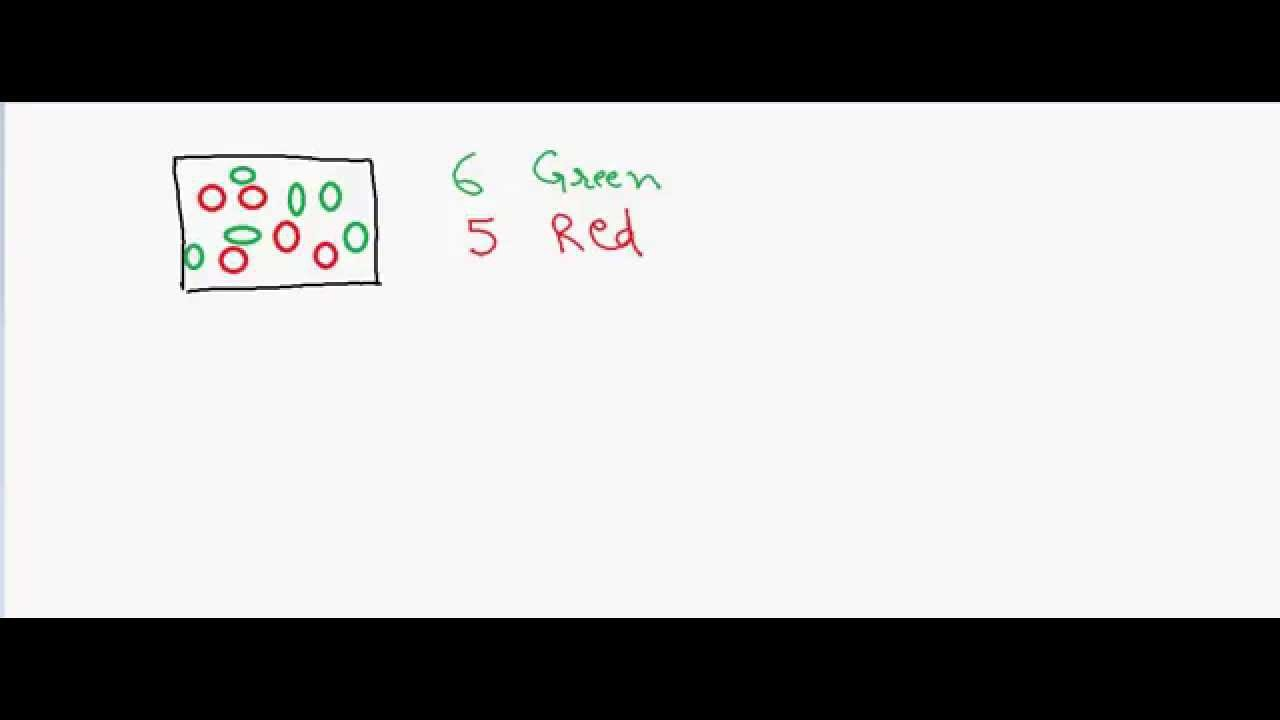 introduction to probability balls in the bag youtube