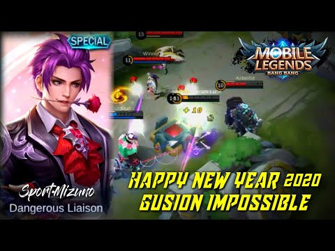 Gusion The Best Momentum At The Beginning Of The Year | Impossible