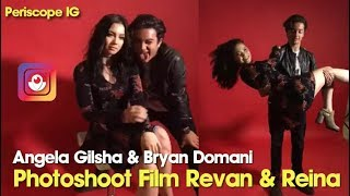 "Video Angela Gilsha & Bryan Domani Photoshoot Film ""Revan & Reina"" download MP3, 3GP, MP4, WEBM, AVI, FLV April 2018"